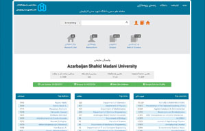 پژواک پژوهش – سامانه علم سنجی دانشگاه اصفهان