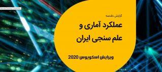 گزارش عملکرد آماری و علمسنجی ایران در سال ۲۰۱۹ در پایگاه استنادی اسکوپوس