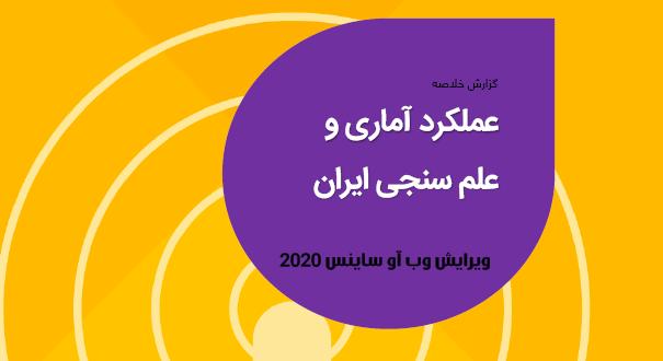 گزارش عملکرد آماری و علمسنجی ایران در سال ۲۰۱۹ در پایگاه استنادی وب آو ساینس